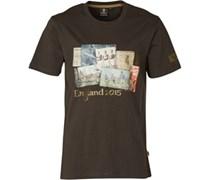 Canterbury Herren Webb Ellis Cup T-Shirt Grau