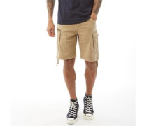 Basic Cargo Shorts Steingrau