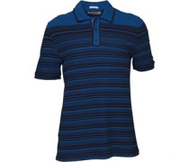 Original Penguin Herren Enginee 2 Sapphire Polohemd Gestreift