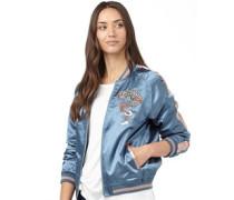 Brave Soul Damen Dragon Harrington Jacke Blau