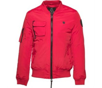 883 Police Mens Moscot Jacket Red
