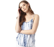 Damen Harriet Top Blau