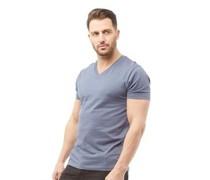 T-Shirt Verblasstes Indigo