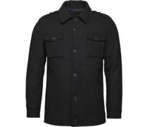 Herren Wool Jacke Charcoal