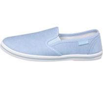 Damen Penny Freizeit Schuhe Blau