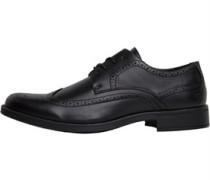 Farah Vintage Herren Sherbourne Brogue Schuhe Schwarz