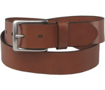 Herren Vintage Strap Gürtel Brown Leather