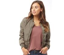 Damen Army Bomberjacke Jacke Khaki