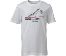 Converse Junior Simplistic T-Shirt White