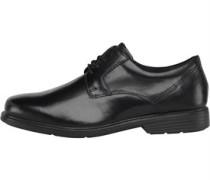 Herren Plain Toe Formal Schuhe Schwarz