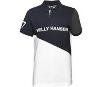 Helly Hansen Herren Cut And Sew Polohemd Weiß