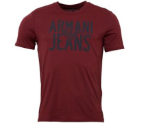 Herren T-Shirt Bordeaux