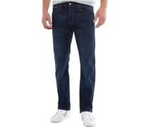 Basicon Jeans mit geradem Bein Mittel