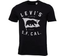 Levi's Herren Graphic T-Shirt Schwarz
