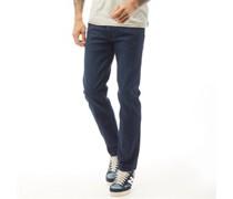 Daren Jeans mit geradem Bein Dunkel