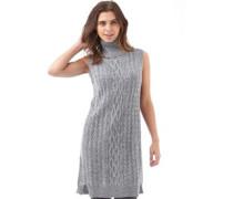 Damen Copenhagen Cables Pullover ohne Ärmel Grau