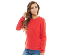 Damen Duke Sweatshirt Rot