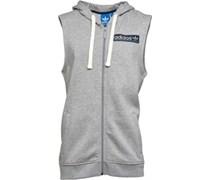 adidas Originals Herren Streetwear Essentials less Sweatshirt Grau