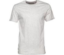 Mens Varadan T-Shirt Ecru Marl