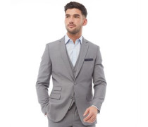 Plain Ticket Blazer meliert
