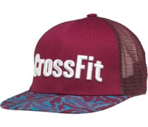 CrossFit Snap Back Trucker Mütze Burgunderrot
