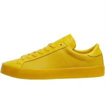Herren CourtVantage Adicolor Sneakers Gelb