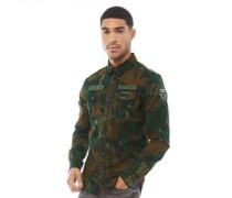 Military Storm Hemd mit langem Arm  Tarnfarbe