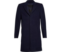 Lyle And Scott Vintage Mens Single Breasted Coat Navy