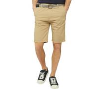Baumwolle Shorts Ecru