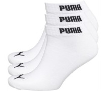 Mens 3 Pack Quarter Socks