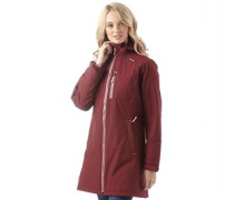 Damen Belfast Insulated Performance Jacke Burgunderrot