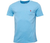 Herren York T-Shirt Hellblau