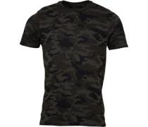 Brave Soul Herren Disguise Combo T-Shirt Khaki