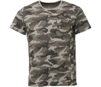 Kennebec River Camo T-Shirt Grau