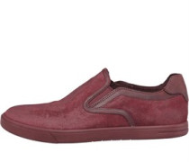 Herren Tobin Freizeit Schuhe Burgunderrot