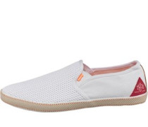 Mens Deckhand Shoes White Mesh