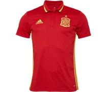 adidas Mens FEF Spain 3 Stripe Climate Polo