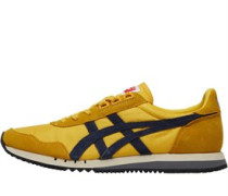 Onitsuka Tiger Mens Dualio Trainers Yellow/Navy