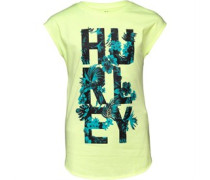 Hurley Junior Lost In Paradise Tee Liquid Lime Heather