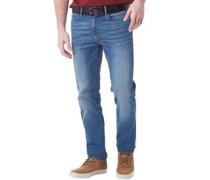 Herren Jeans mit geradem Bein Denim