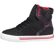 Supra Junior Skytop Black/Snake/Red/White
