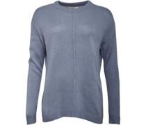Pullover mit Rundhalsausschnitt Blau