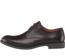 Herren Century Schuhe Dunkelbraun
