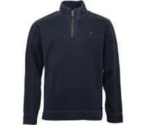 Onfire Herren Pique Neck Sweatshirt Charcoal