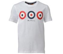 Ben Sherman Junior Target T-Shirt Bright White