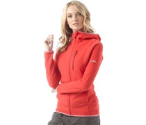 Damen Verdon Fleece Rot