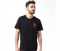 U.S. POLO ASSN. Herren Abbott T-Shirt Schwarz