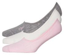 Footsies Socken Grau