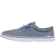 Firetrap Mens Murphy Canvas Shoe Blue Chambray