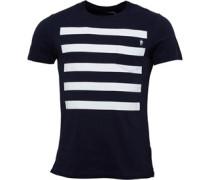 Herren 5 T-Shirt Blau